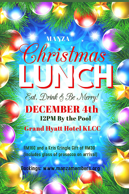 <MANZA Christmas Lunch>